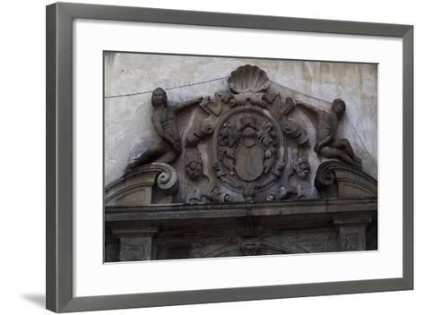 Decorative Detail from the 14th-16th Century Nowy Wisnicz Castle, Poland--Framed Art Print