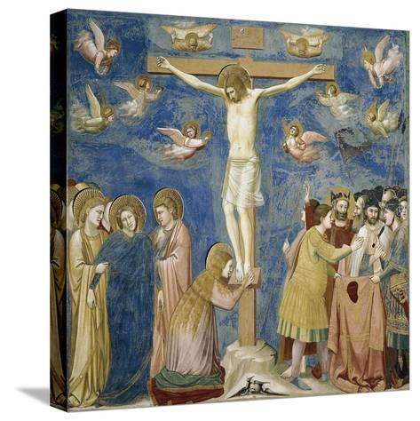 Crucifixion, Detail from Life and Passion of Christ--Stretched Canvas Print