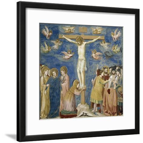Crucifixion, Detail from Life and Passion of Christ--Framed Art Print