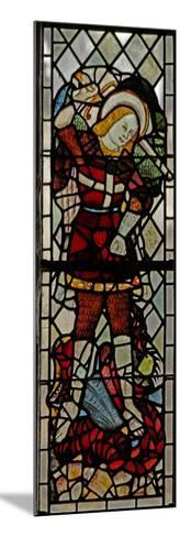 Window N3 Depicting St Michael--Mounted Giclee Print
