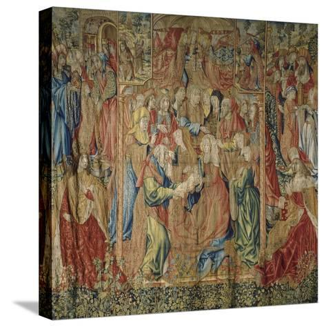 The Presentation of Jesus at the Temple--Stretched Canvas Print