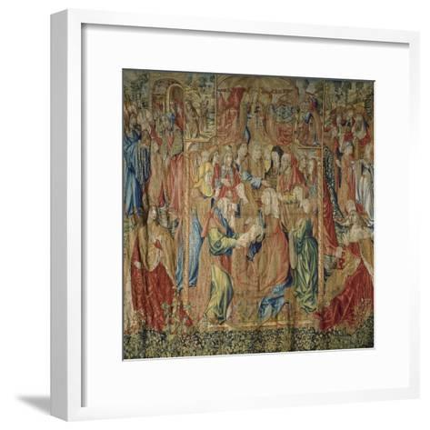 The Presentation of Jesus at the Temple--Framed Art Print