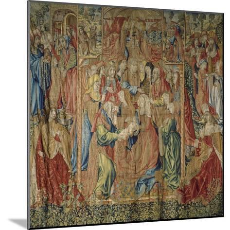 The Presentation of Jesus at the Temple--Mounted Giclee Print