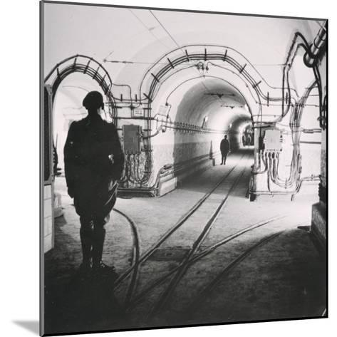 The Maginot Line, C. 1939--Mounted Photographic Print