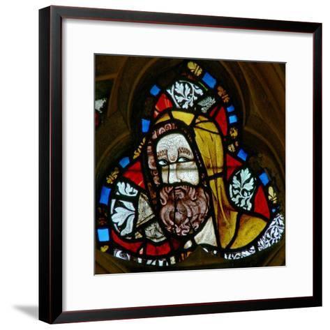 Window N-2 Depicting Simeon--Framed Art Print