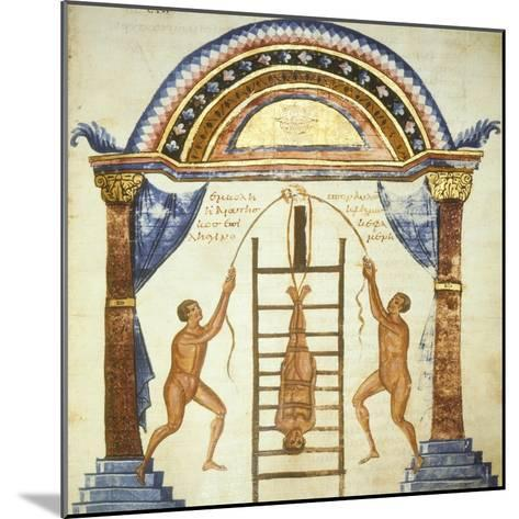 Illustration from the Commentaries by Apollonio from Chiton on a Hippocratic Treaty--Mounted Giclee Print