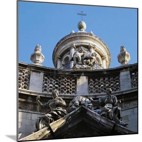 Decoration on Facade of Church of St, Agatha's Abbey--Mounted Giclee Print