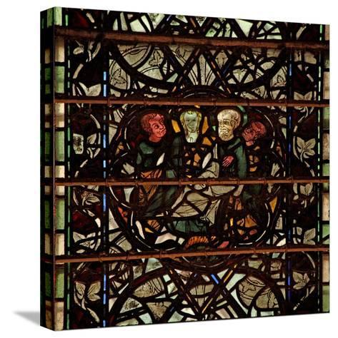 Window W60 Depicting a Scene from the Life of St Paul--Stretched Canvas Print