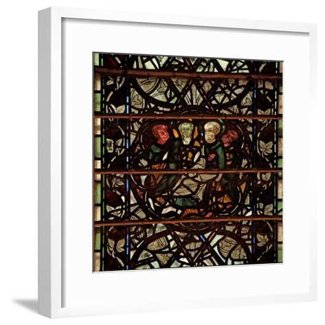 Window W60 Depicting a Scene from the Life of St Paul--Framed Art Print