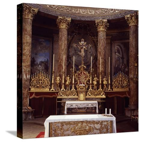 Apse of Cathedral of John the Baptist and Saint Remigio, Designed by Benedetto Alfieri, Italy--Stretched Canvas Print