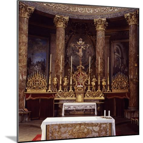 Apse of Cathedral of John the Baptist and Saint Remigio, Designed by Benedetto Alfieri, Italy--Mounted Giclee Print