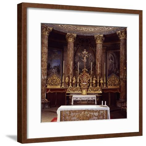 Apse of Cathedral of John the Baptist and Saint Remigio, Designed by Benedetto Alfieri, Italy--Framed Art Print