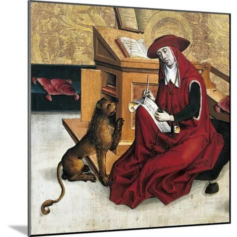 St Jerome, Panel from Altarpiece of Doctors of Church--Mounted Giclee Print