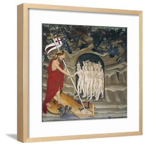 Christ in Limbo Resurrecting the Elect, Life of Christ--Framed Art Print