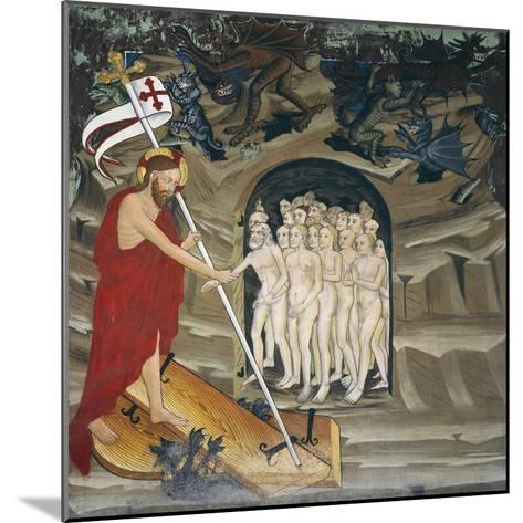 Christ in Limbo Resurrecting the Elect, Life of Christ--Mounted Giclee Print