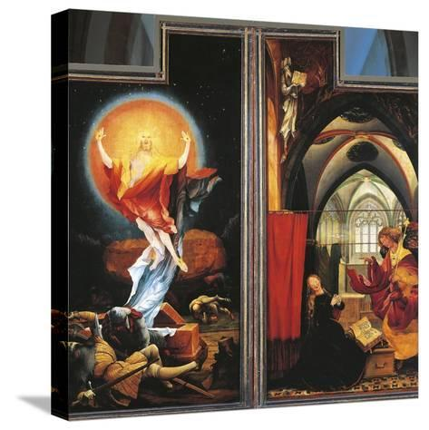 The Annunciation and Resurrection of Christ--Stretched Canvas Print
