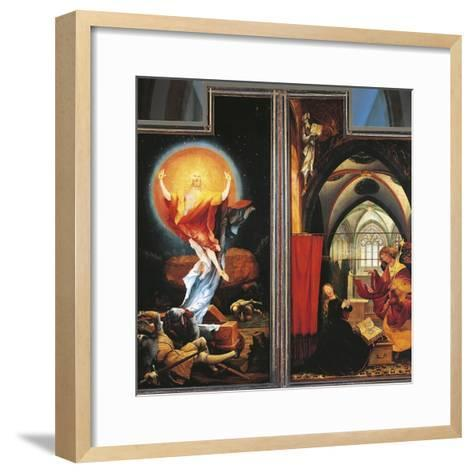 The Annunciation and Resurrection of Christ--Framed Art Print