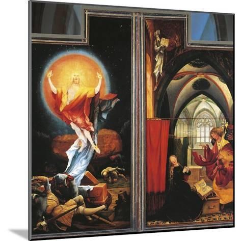 The Annunciation and Resurrection of Christ--Mounted Giclee Print