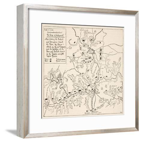 The Siege of Ladysmith--Framed Art Print