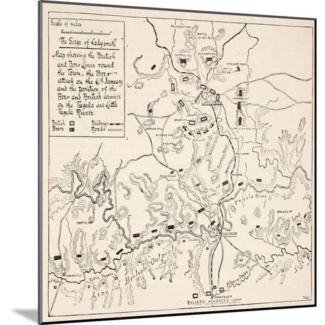 The Siege of Ladysmith--Mounted Giclee Print