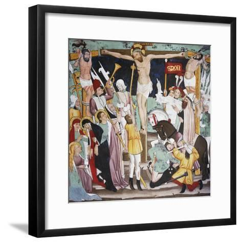 Crucifixion, Life of Christ--Framed Art Print