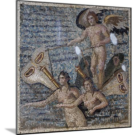 Mosaic Depicting Psyche, Uncovered in Daphne, Antioch, Turkey, 3rd Century--Mounted Giclee Print