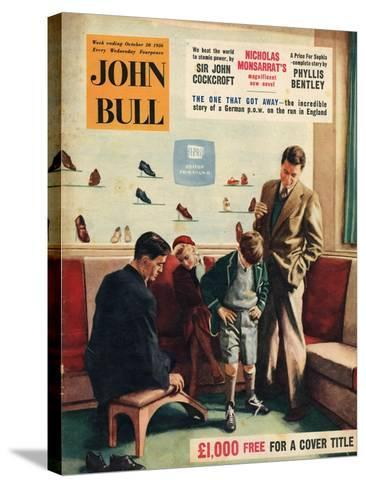 Front Cover of 'John Bull', October 1956--Stretched Canvas Print