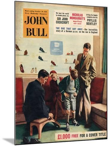 Front Cover of 'John Bull', October 1956--Mounted Giclee Print