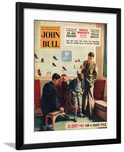 Front Cover of 'John Bull', October 1956--Framed Art Print