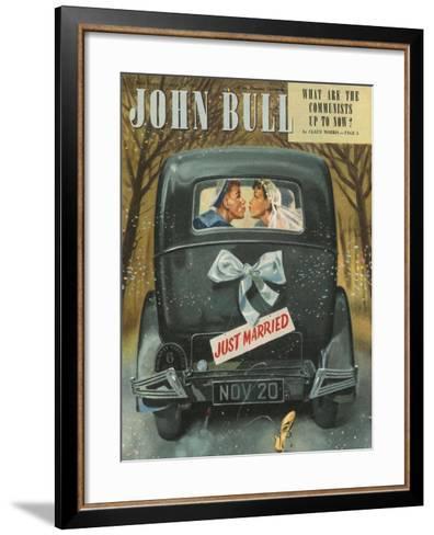 Front Cover of 'John Bull', November 1947--Framed Art Print