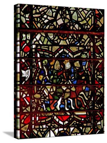 Window W57 Depicting the Magi Follow the Star--Stretched Canvas Print