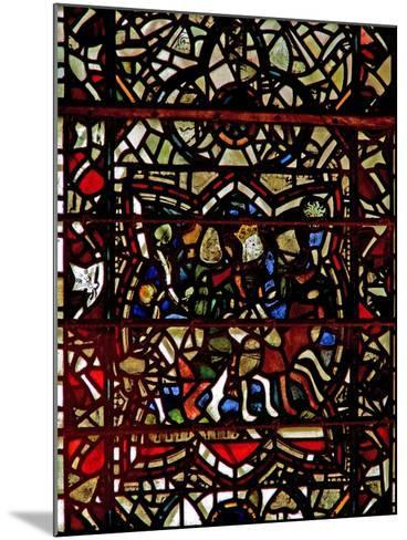 Window W57 Depicting the Magi Follow the Star--Mounted Giclee Print