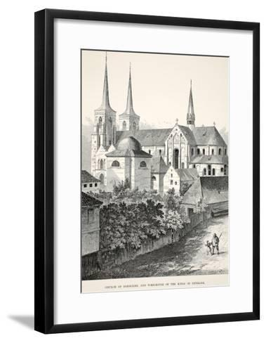 Church of Roeskilde and Tomb-House of the Kings of Denmark--Framed Art Print