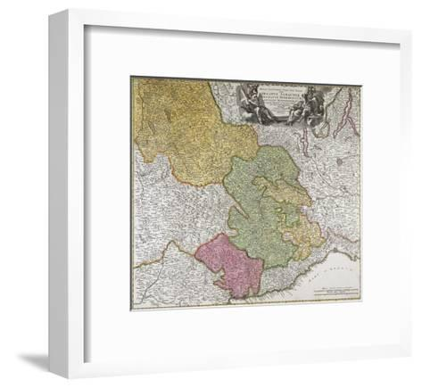 Duchy of Savoy, Principality of Piedmont, Duchy of Monferrato and County of Nice--Framed Art Print