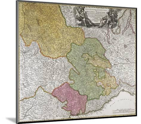Duchy of Savoy, Principality of Piedmont, Duchy of Monferrato and County of Nice--Mounted Giclee Print