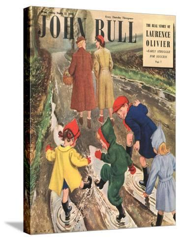 Front Cover of 'John Bull' Magazine, March 1949--Stretched Canvas Print