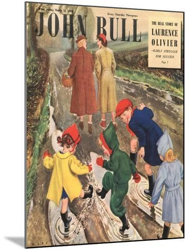 Front Cover of 'John Bull' Magazine, March 1949--Mounted Giclee Print