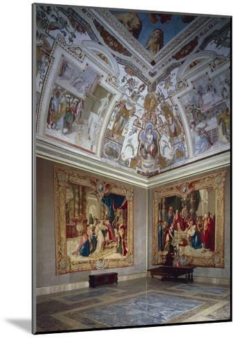 View of an Hall, Lateran Palace, Italy, Lazio Region, Rome--Mounted Giclee Print