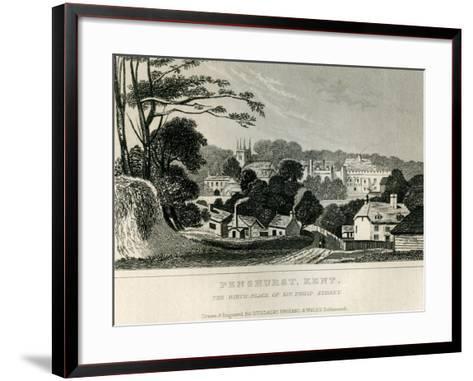 Penshurst, Kent, C.1840--Framed Art Print