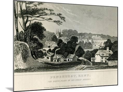 Penshurst, Kent, C.1840--Mounted Giclee Print