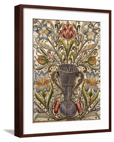 Ebony Cabinet, Made in Naples, Italy, Detail--Framed Art Print
