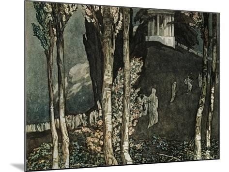 Dante Alighieri--Mounted Giclee Print