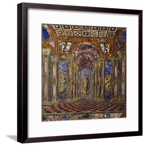Altar of Royal Chapel of Assumption--Framed Art Print