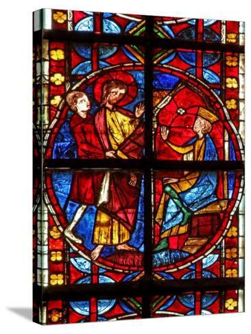 Window W210 Depicting St James before Herod--Stretched Canvas Print