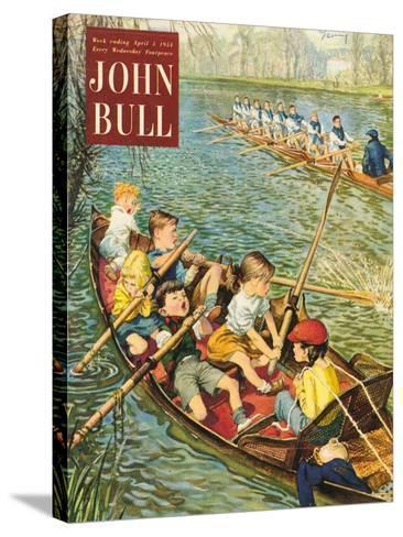 Front Cover of 'John Bull', April 1954--Stretched Canvas Print
