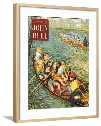 Front Cover of 'John Bull', April 1954--Framed Art Print
