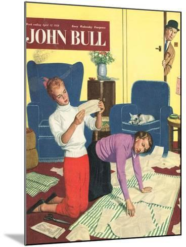 Front Cover of 'John Bull', April 1958--Mounted Giclee Print