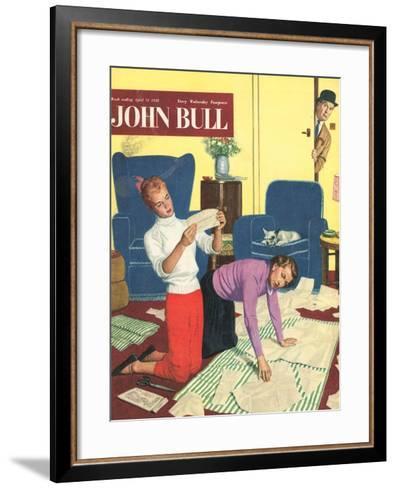 Front Cover of 'John Bull', April 1958--Framed Art Print