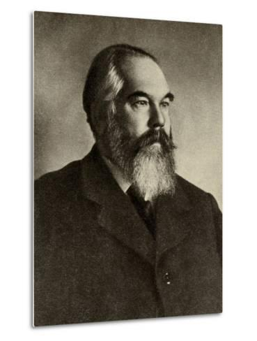 Portrait of Sergei Ivanovich Taneyev--Metal Print