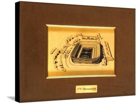 San Siro Stadium, Milan--Stretched Canvas Print